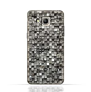 Samsung Galaxy J7 Core 2017 TPU Silicone Case with Old Cube Blackwood Texture Design