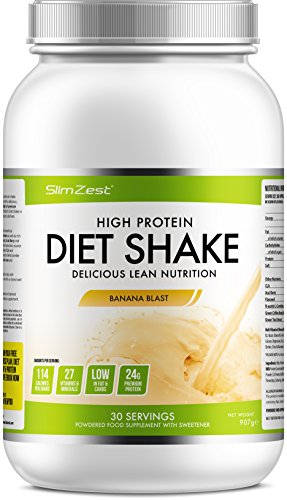 Whey Protein Shakes - Stay Fuller For Longer - Burn Fat, Trim & Tone - 27...