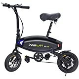 """InnoWin KingSports Pedals Power Assist 48"""" x 26"""" Foldable Electric Weekend Bike Bicycle"""
