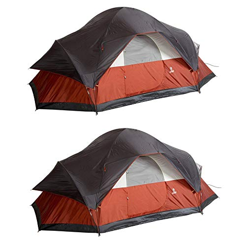 Coleman Red Canyon 8 Person 17 x 10 Foot Outdoor Camping Lar