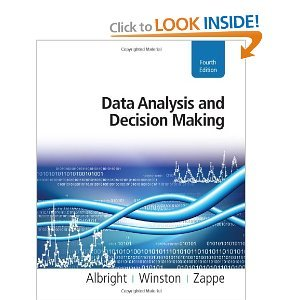 Data Analysis and Decision Making (4th Edition)