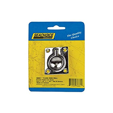 Seachoice Flush Ring Pull 1-1/2 In. X 1-3/4 In. - Seachoice Flush Ring Pull