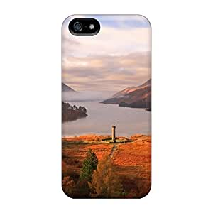 New Snap-on NikRun Skin Case Cover Compatible With Iphone 5/5s- Lighthouse In Autumn Lscape
