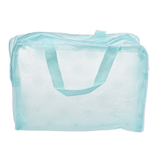 Zycshang Toiletry Bag Transparent Women Fashion Bags Bag Floral Cosmetic Sale Pouch Travel Portable Wash Makeup Toothbrush Cosmetic Organizer Green Waterproof r0rwAqU