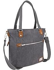 Travelon Anti-Theft Heritage Tote Bag, Pewter