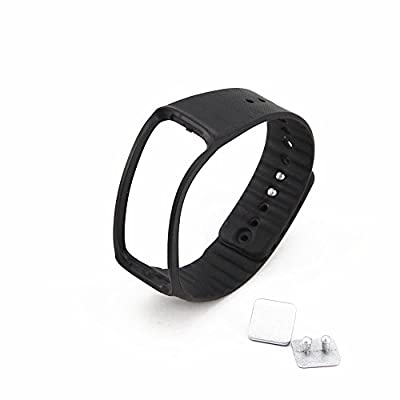 Moretek Replacement Plastic Band for Samsung Gear Fit Wristband