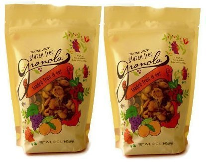 Trader Joe's Loaded Fruit and Nut Gluten Free Granola, 12 oz - 2 pack