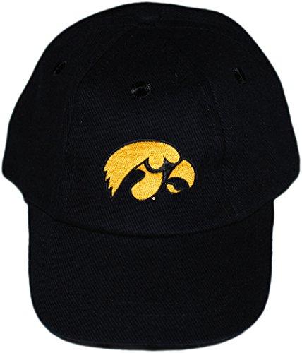 University of Iowa Hawkeyes Baby and Toddler Baseball Hat Black
