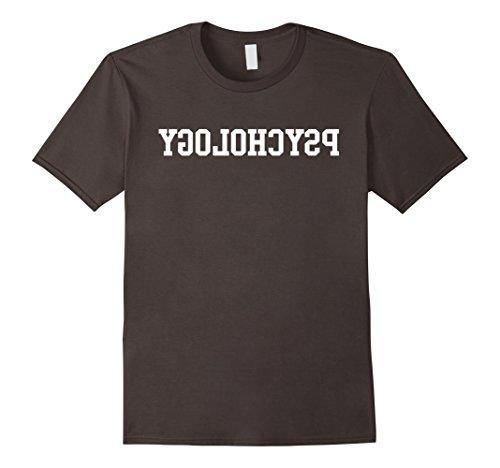 Mens Reverse Psychology T-Shirt 2XL Asphalt