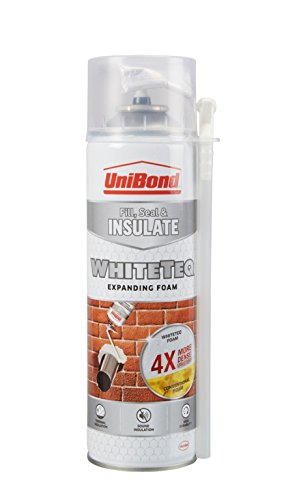 UniBond 2076916 WhiteTeq Expanding Foam 477g Henkel