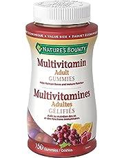 Nature's Bounty Adult Multivitamin, Helps Maintain Bones and Immune Function, 150 Gummies