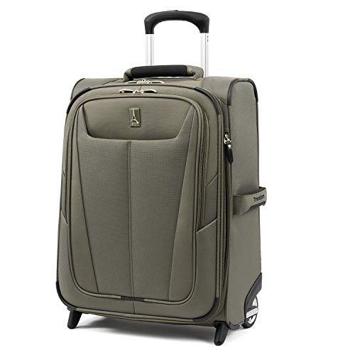 Travelpro Luggage Expandable International Carry-On, Slate Green