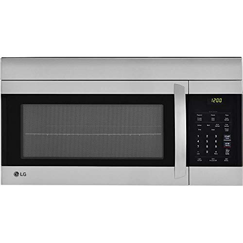 LG 30″ Stainless Over-The-Range Microwave (LMV1762ST) Stainless Steel/Black – New (Renewed)