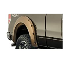 Bushwacker Ford Pocket Style Fender Flare Rear Pair