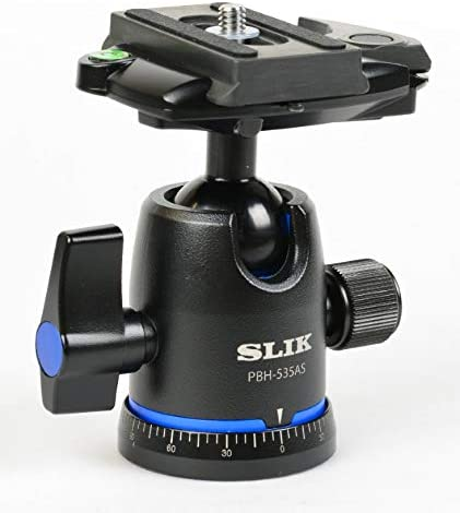 Slik PBH-535AS Ball and Socket Tripod Head with Arca-Swiss Compatible Quick Release System