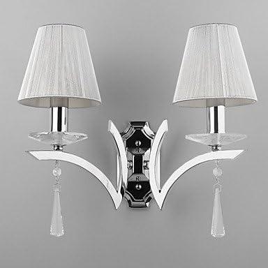 Amazon.com: Elegante lámpara de pared con 2 luces – Gotas de ...