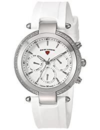 Swiss Legend Women's 16175SM-02-WHT Madison Analog Display Swiss Quartz White Watch