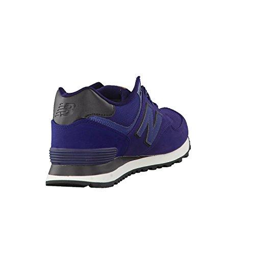 Nieuw Evenwicht Ml574 Mannen Sneakers, Groen, 41 Blauw Eu (navy_gpf)