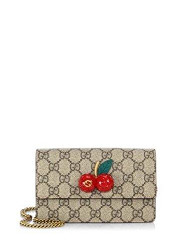 9019b053dd17 Amazon | (グッチ) Gucci Cherry Embellished GG Supreme Mini Chain Shoulder Bag  チェーンショルダー バッグ (並行輸入品) dolzikgoo | GUCCI(グッチ) | レディース ...