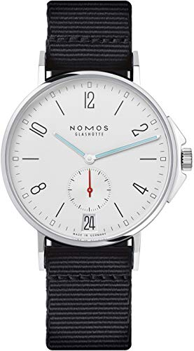 Nomos Ahoi Datum Automatic White Dial Stainless Steel Mens Watch 551
