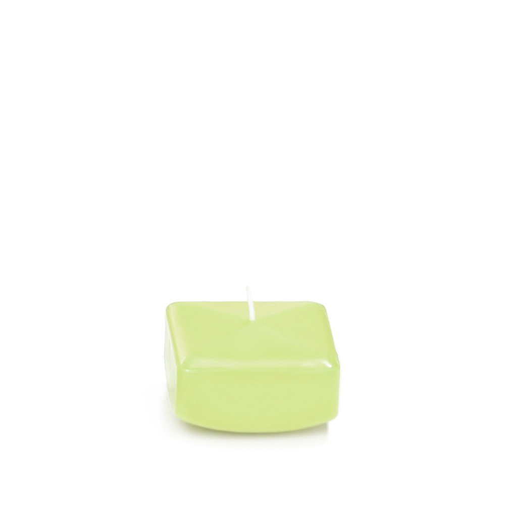 2.25 Blush Square Floating Candles - 6 per pack Neo-Image Candlelight Ltd