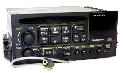 GMC Chevy Truck 1995-2005 CD iPod Aux Input Radio with 90 Day Warranty ()