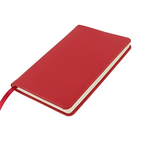 Leather Spiral Presentation Book (The Economist Leather Bound Red Classic Accessory Notebook Journal - Convenient, Compact, Organized, Handy, Helpful, Amazing for Meetings, Telephone Conversations, Year Planner, (A6 175 X 115mm))