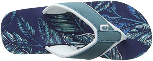 Animal Swish Aop, Sandalias para Mujer Azul (Sailor Blue)