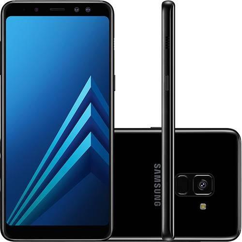 Smartphone Samsung Galaxy A8 Preto Dual CHIP 64GB Câmera 16MP