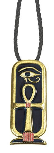 SUMMIT COLLECTION Ankh Cartouche Pendant Collectible Medallion Necklace Accessory Jewel