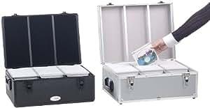 Xcase - Maletín organizador para 600 CD/DVD/BD