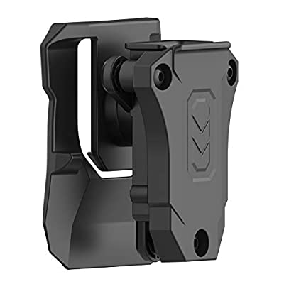 Universal Magazine Paddle Holster, 9mm .40 .45 Double Stack Mag Holder 1911 Single Stack Magazine Pouch Fits Glock Sig Sauer Browning Beretta Taurus H&K S&W Most Mags