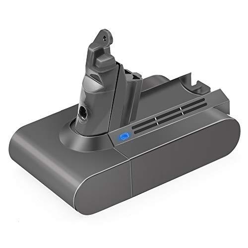 - 21.6V 3000mAh Li-ion Battery for Dyson V6 Battery DC58 DC59 DC61 DC62 595 650 770 880 Animal DC72 Series Handheld 21.6 Volt Vacuum V6 Li-ion Dyson Battery