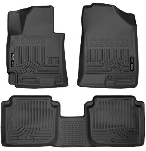 (Husky Liners Front & 2nd Seat Floor Liners Fits 14-16 Elantra Sedan)