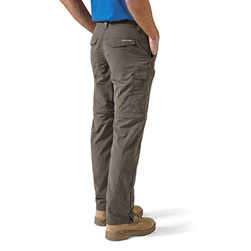 Color Senderismo Nosilife Hombre Para De Marrón Pantalones Oscuro Craghoppers n7B1xFB