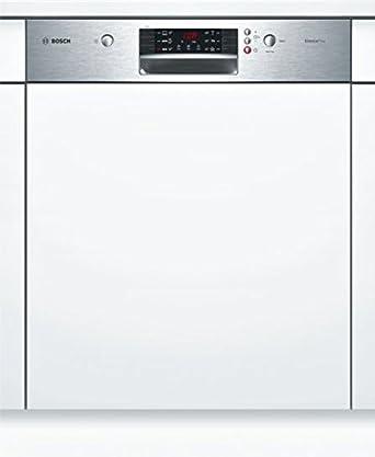 Bosch SMI46AS00E Geschirrspüler Integrierbar A+ 60cm Silence Plus Stainless  Steel Good Looking