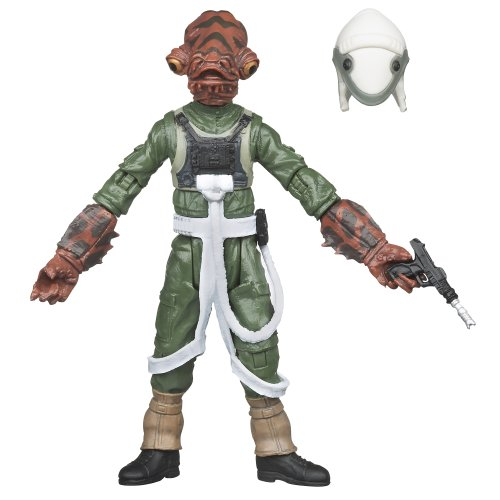 Star Wars Return Of the Jedi the Vintage Collection Rebel Pilot (Mon Calamari) Figure