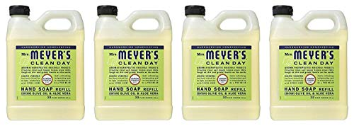 Earth Friendly, Mrs. Meyers Liquid Hand Soap Refill 33 Oz Lemon Verbena Scent (Pack of -