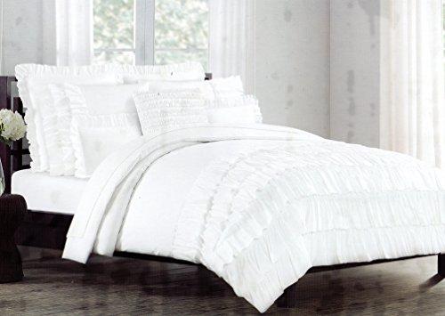 isaac-mizrahi-new-york-3pc-shabby-chic-ruffled-duvet-cover-set-white-luxury-100-cotton-cottage-beddi