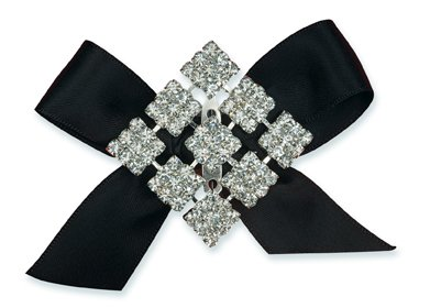 DIAMANTE SQUARES BROOCH FROM CLUB GREEN ()