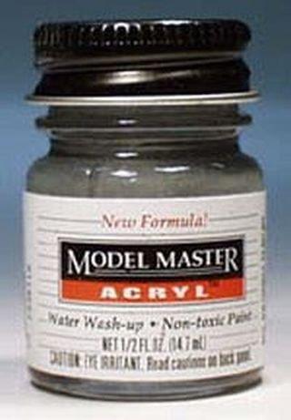 Gunship Gray Testors Acrylic Plastic Model Paint