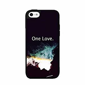 Man Smoking- One Love TPU RUBBER SILICONE Phone Case Back Cover iPhone 5 5s