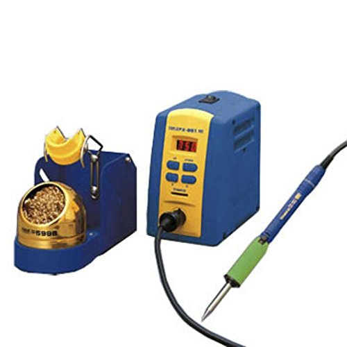 ESD-Safe Soldering Station with FM-2027-02 Iron, FH200-01 Iron Holder, and Lockout Key Card, 75W, 24V