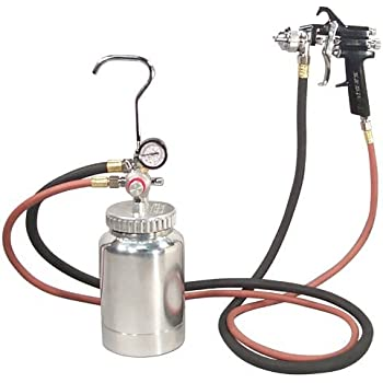 Astro 2PG7S 2 Quart Pressure Pot with Gun and Hose Paint and Body Spray Guns, Model: 2PG7S, Outdoor & Hardware Store