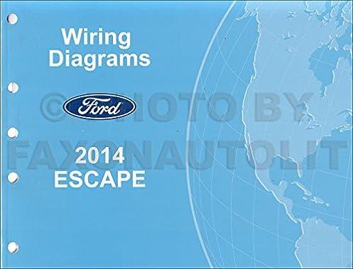 2014 ford escape wiring diagram manual original ford amazon com books 2014 Ford Taurus Wiring Diagrams
