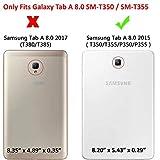 KIQ Galaxy Tab A 8.0 2015 T350 Case, Full-Body