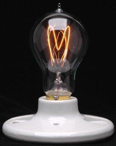 Ferrowatt 071231 - 60 watt 120 volt Double Loop Filament Medium Screw Base Ferrowatt (1920) (F1920 60W 120V FW)