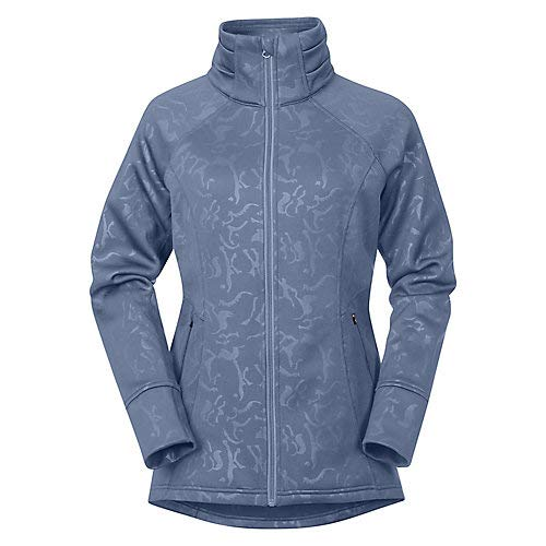 Kerrits Flex Fleece Jacket Denim Embossed Horse Size: Extra Large