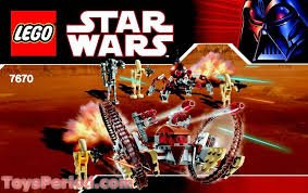 INSTRUCTION MANUAL FOR LEGO 7670 - Star Wars: Hailfire Droid & Spider Droid