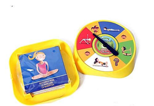 Amazon.com: Yoga Spinner Board Game,LHXbang Yoga Spinner ...